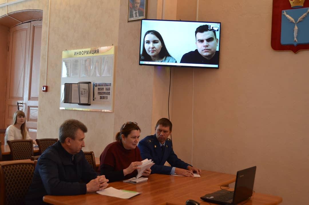Специалисты Саратовской юридической академии провели приём петровчан в формате видеоконференции