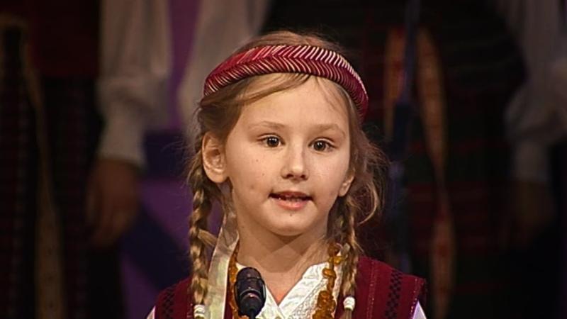 Žemaičių pasaka apie vagis Curonian Samogitian dialect Folk Tale Telšiškių tarmė