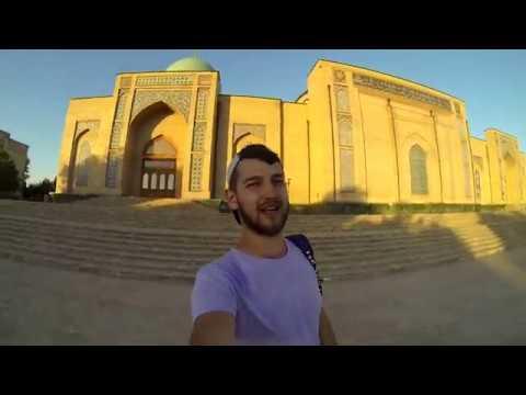 Узбекистан 6 часть. Прогулка по Ташкенту. Район Чиланзар.