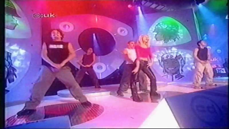 Christina Aguilera Genie In A Bottle CD UK ITV 1999