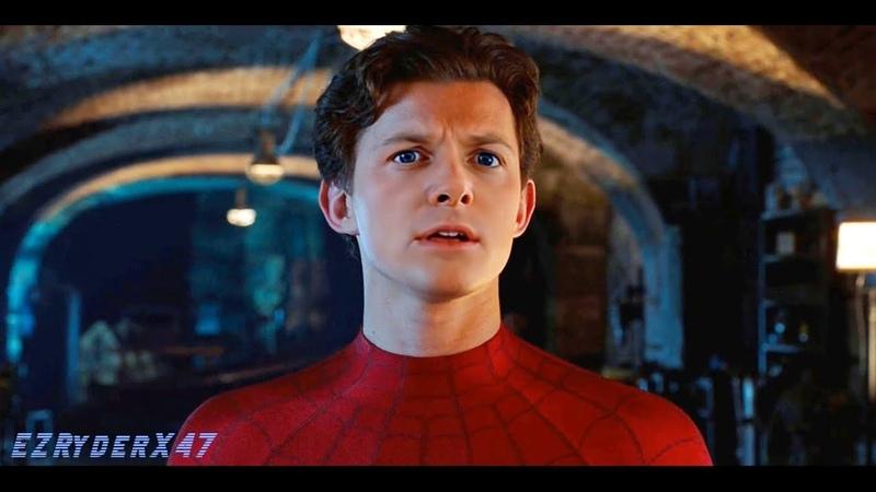 Marty Mcfly Michael J Fox as Spider man Meeting Mysterio deepfake