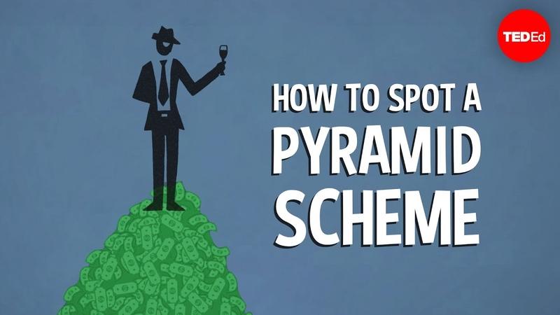 How to spot a pyramid scheme Stacie Bosley