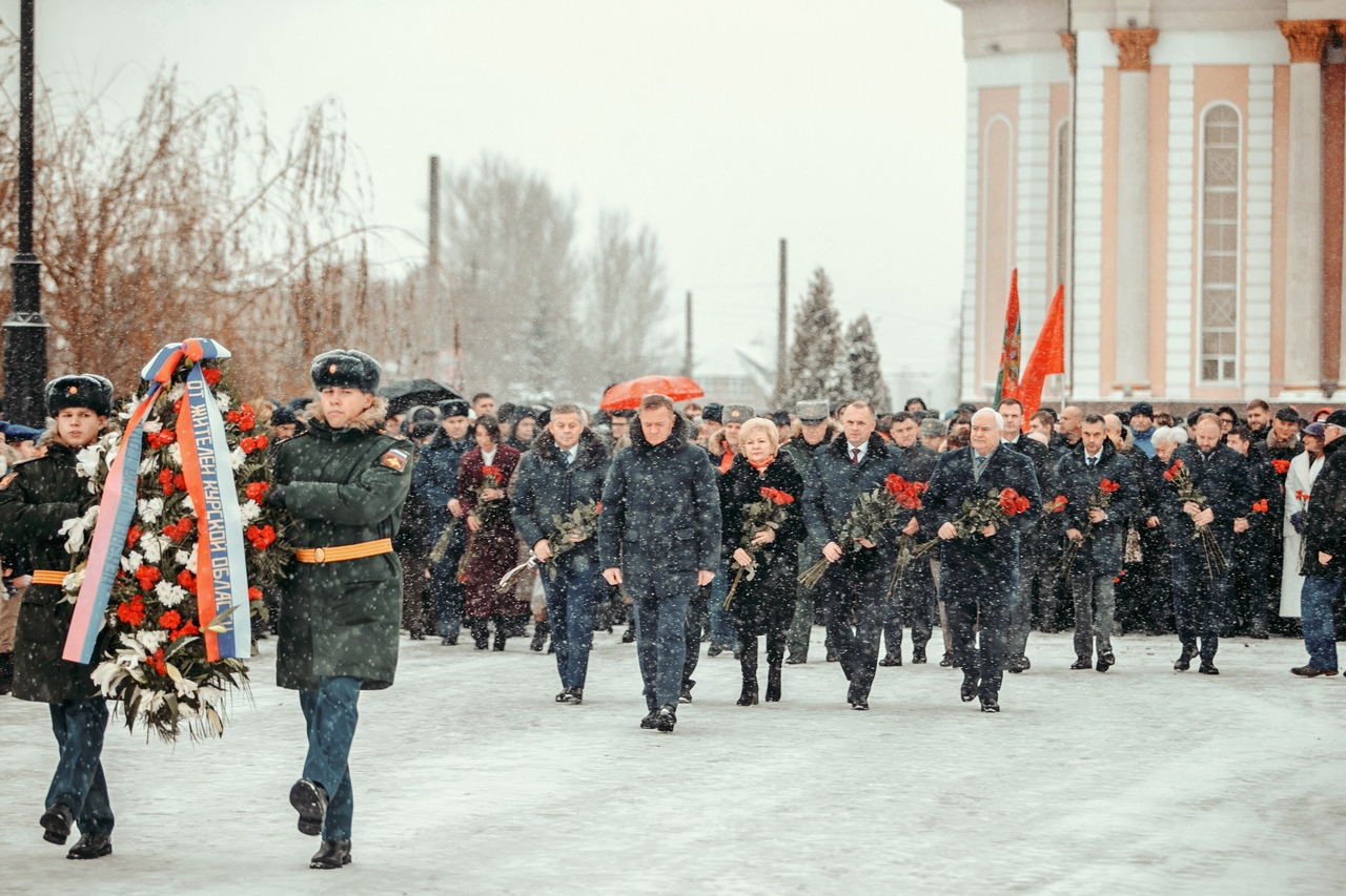 В Курске отметили День неизвестного солдата