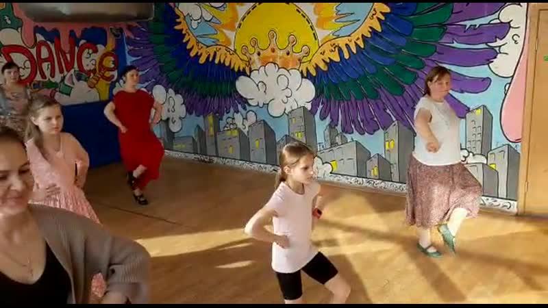 VID 20200314 первые уроки фламенко