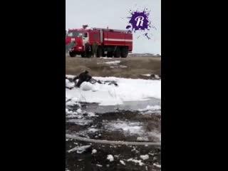 Крушение военного вертолета на Чукотке