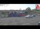 Автоприколи - як перевозять автомобілі під низьким мостом
