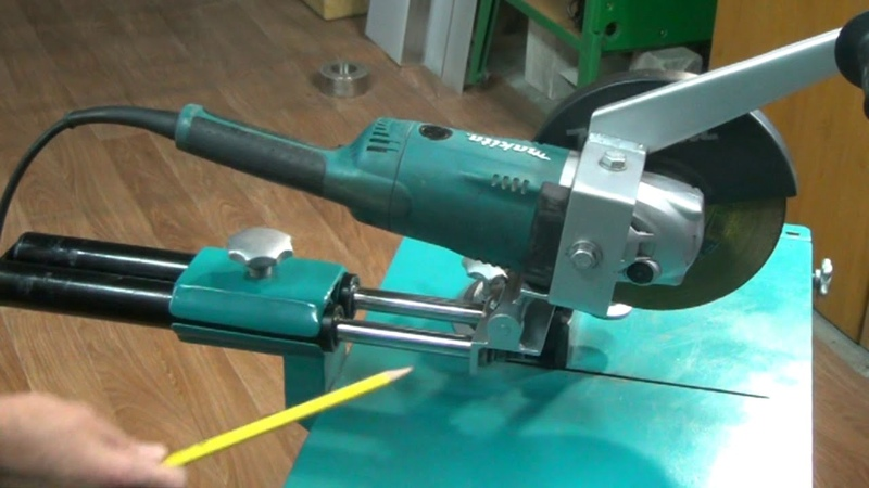 Стойка для болгарки с протяжкой Stand for angle grinder with broach