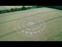 Crop Circle Woolstone Wells, Nr Uffington Castle, Oxfordshire Reported 09/08/2020