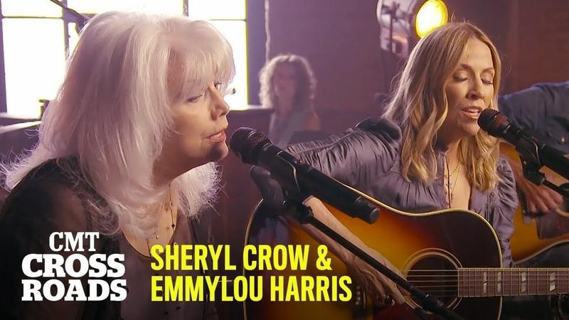 Sheryl Crow Emmylou Harris Perform 'Nobody's Perfect' CMT Crossroads