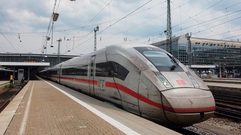 Поезда Германии Главный вокзал Мюнхена DeutscheBahn Regio DB Meridian S Bahn