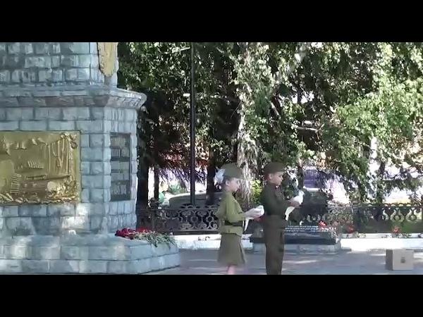 Флешмоб Голубь мира МКЦ г Шацк