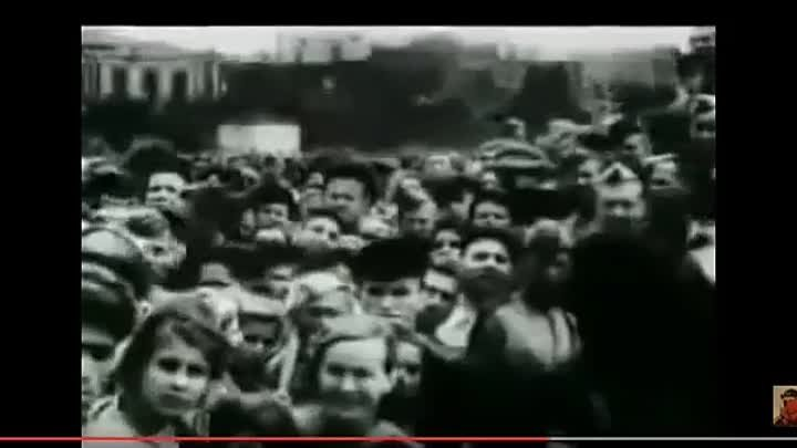 Казнь бандеровцев ОУН-УПА. Киев, 1945 год. Уникальное видео