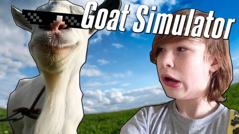 БЕШЕНАЯ КОЗА! | Goat Simulator