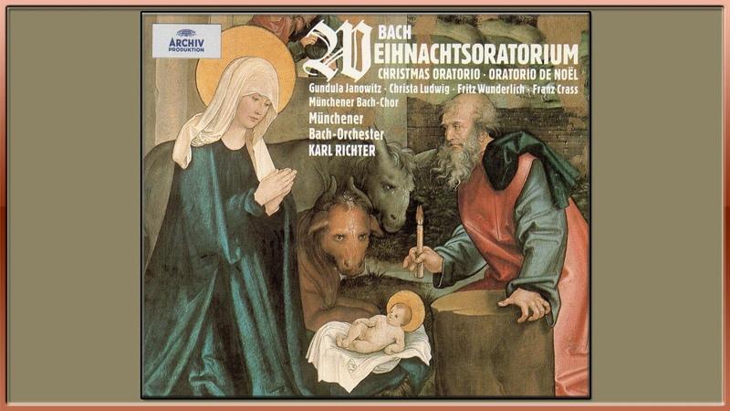 Bach Christmas Oratorio BWV 248 Karl Richter Complete Oratory