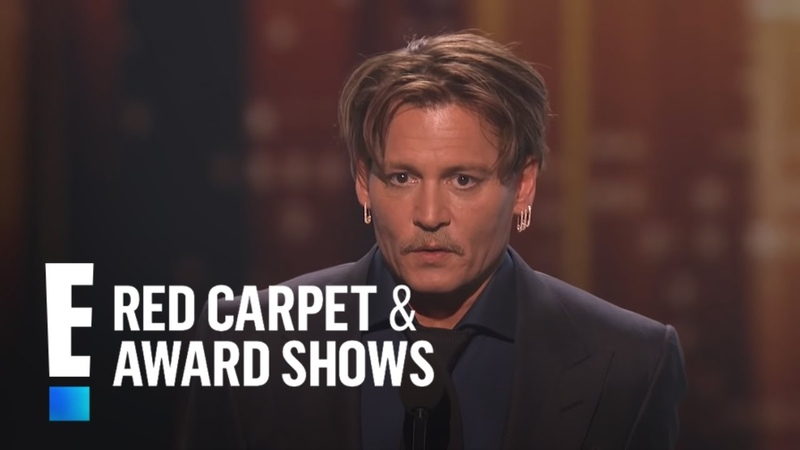 Johnny Depp is The Peoples Choice for Favorite Movie Icon | E! Peoples Choice Awards