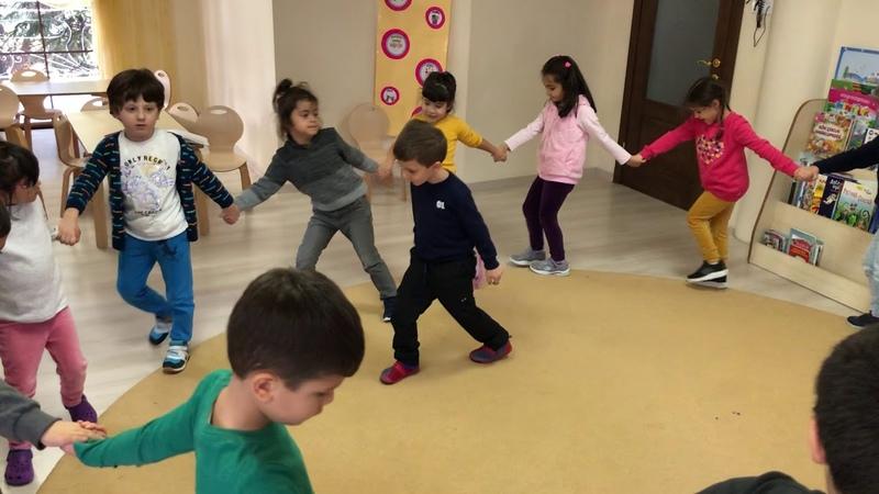 Kindergarten circle dance Okul Öncesi Dans