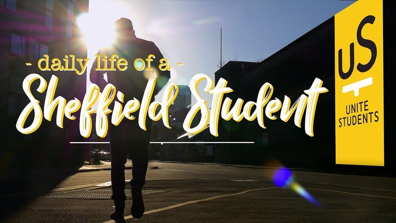 Day In The Life of a Sheffield Student Unite Students