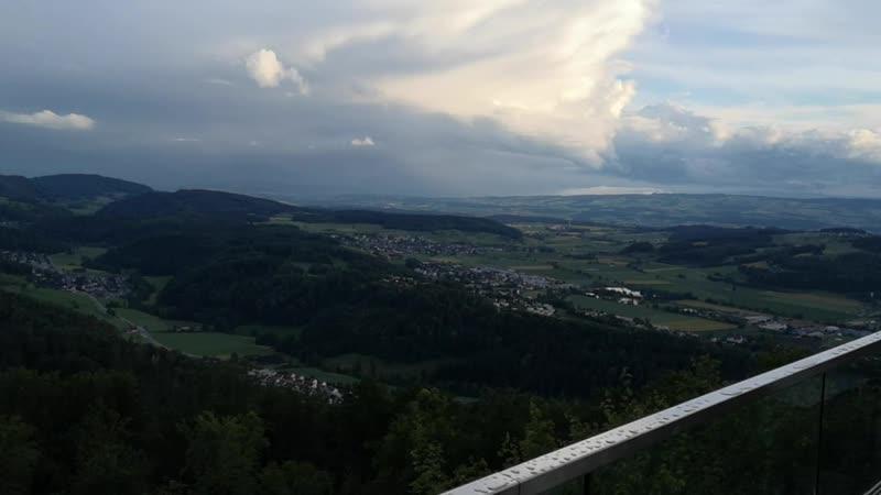 смотрим на г Цюрих с высоты