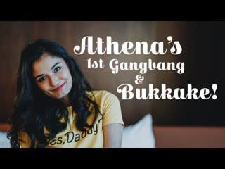 [LIL PRN] Texas Bukkake - Athena - Athena's 1st Gangbang & Bukkake! - E40  Порно, Blowjob, Brunette, Orgy