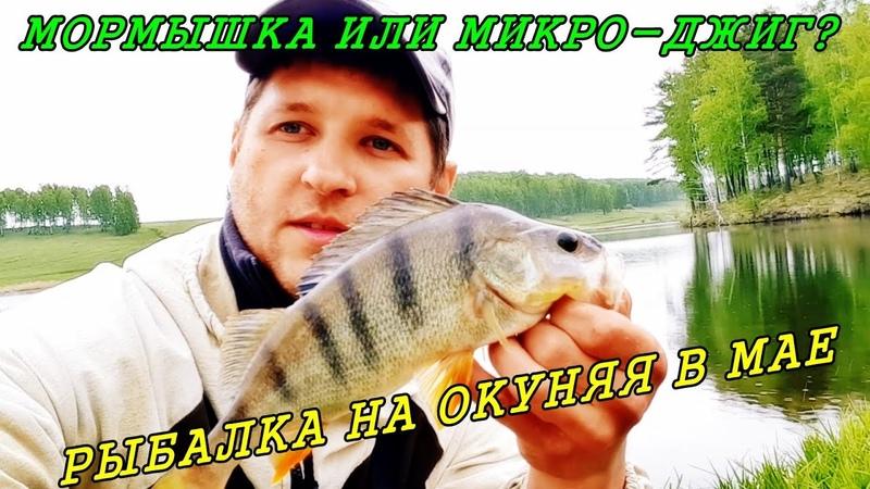 МОРМЫШКА или МИКРО ДЖИГ Рыбалка в МАЕ на ОКУНЯ Рыбалка на спиннинг