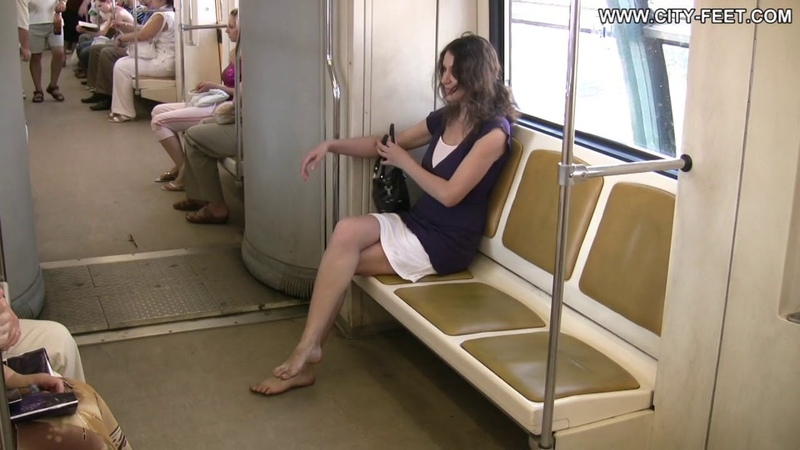 City Sexy soles in the city Lena 1