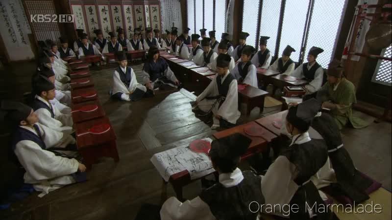 Отрывок из дорамы «Скандал в Сонгюнгване» (Мужеложцы) 15 серия. Озвучка GREEN TEA