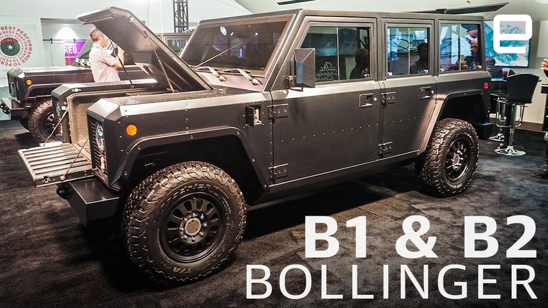 Bollinger B1 B2 An electric work truck with serious power