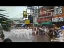 Торжественный ПАРАД ВОЕННЫХ МОРЯКОВ русских и американских в Южной Корее после наводнения