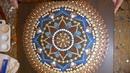 How to paint dot mandalas with Kristin Uhrig- 33 Dreamcatcher part 2