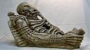 4 ПЯТИМЕТРОВЫЕ человекообразные мумии с ластами возр 4 млн лет в пещерах Тибета.Глазам не поверили