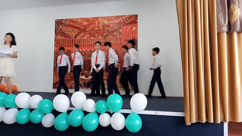 Ботагоз Оралбековна мен 6 сынып окушыларынын 8 наурызга карсы керемет куттыктаулары