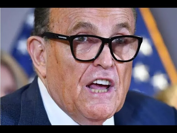I'm Crazy Rudy Giuliani EXPLODES Over Lawsuit