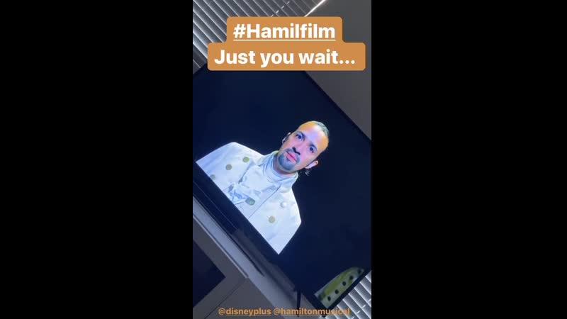 Agenda for the day NONSTOP HAMILFILM @disneyplus @HamiltonMusical @Lin Manuel @LacketyLac @ABlankenbuehler Just you wait