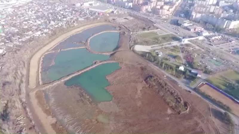 Благоустройство озера Кашкадан