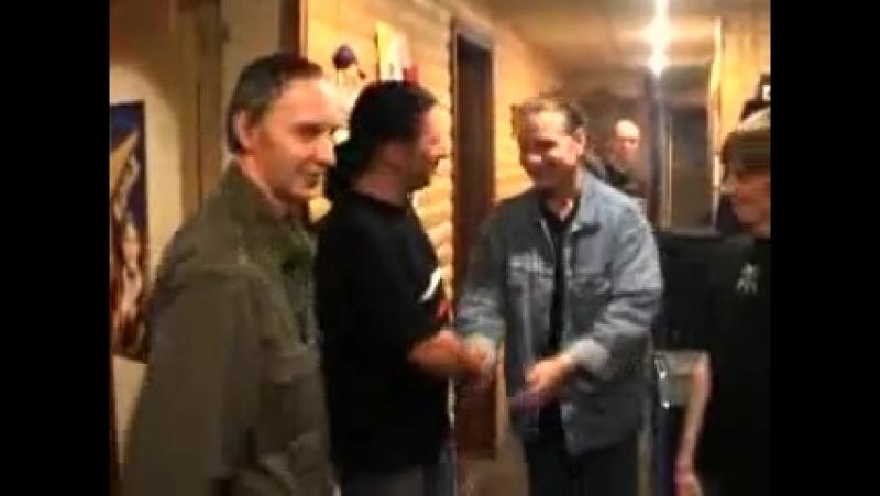 Кипелов на студии с Шклярским и Самойловым 2003