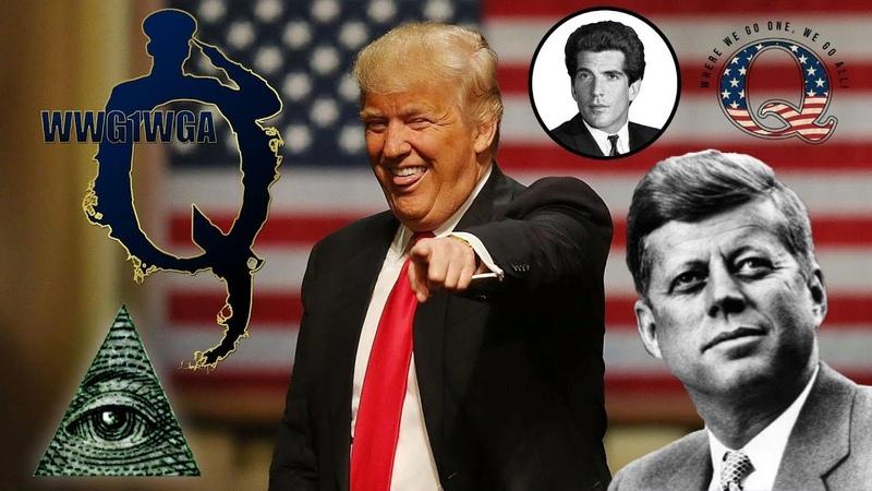 Trump Q Anon und JFK Jr ➤ Der globale Shutdown