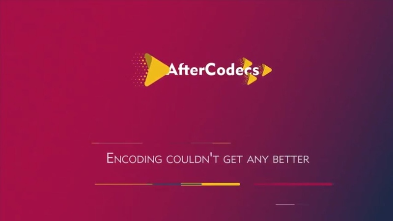 AfterCodecs for Premiere Pro Media Encoder and After Effects