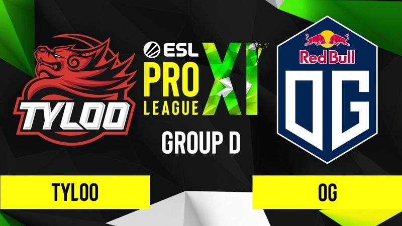 CSGO - OG vs. TYLOO [Dust2] Map 2 - ESL Pro League Season 11 - Group D