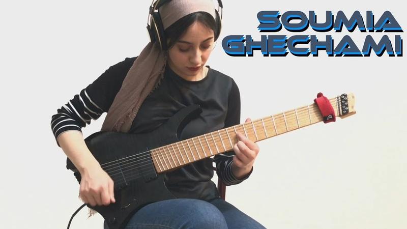 Soumia Ghechami Strandberg Boden Original 8 * String Prog Metal in B Minor