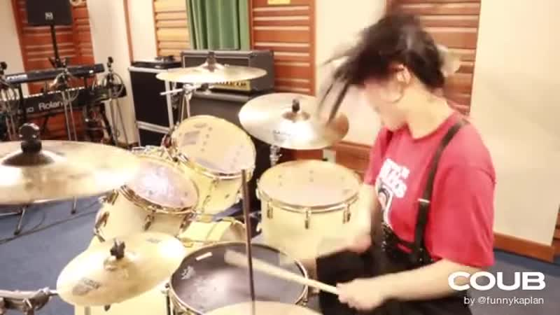 JUNNA Through The Fire And Flames DragonForce Drum Cover