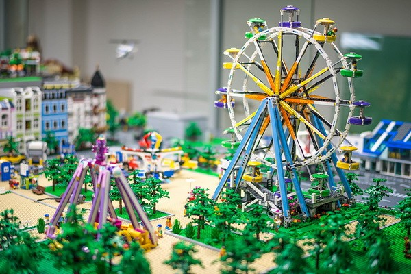 Музей Lego Megabricks. Подождите загрузки картинки!