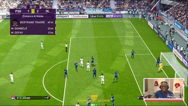 LIVE PES2020 COUPE DE LA LIGUE BKT TEAMBOUMÉ VS TEAMJOEL