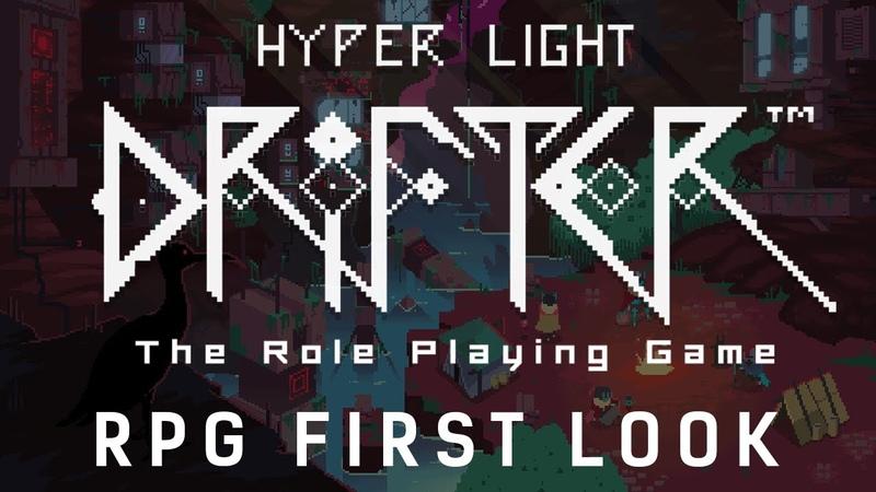 RPG First Look HYPER LIGHT DRIFTER