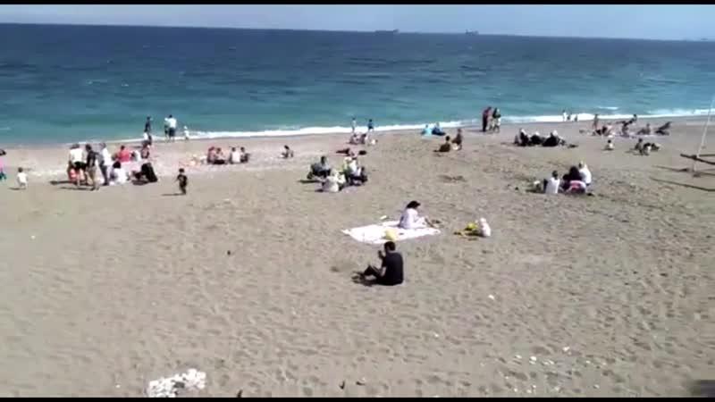 Пляж Коньяалты, 03.06.2020