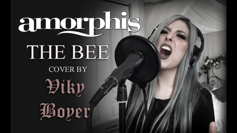 THE BEE VIKY BOYER AMORPHIS COVER