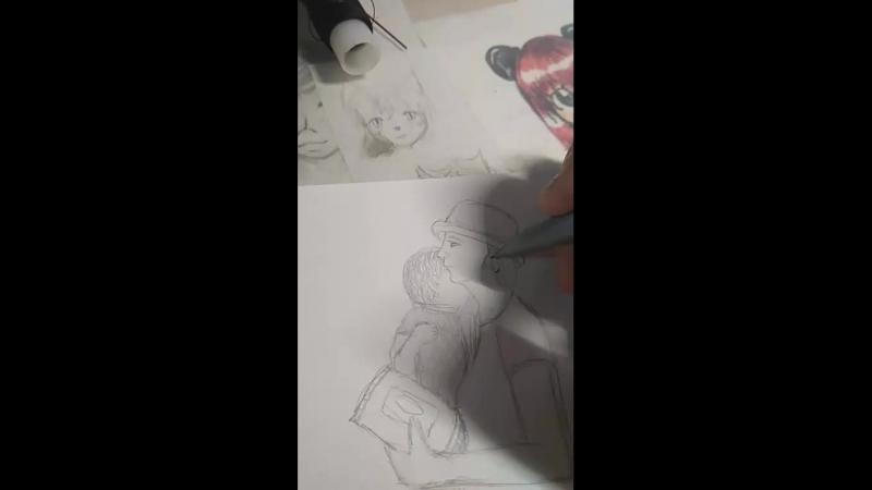 рисую и бомблю из-за рисунков или мне просто скучно