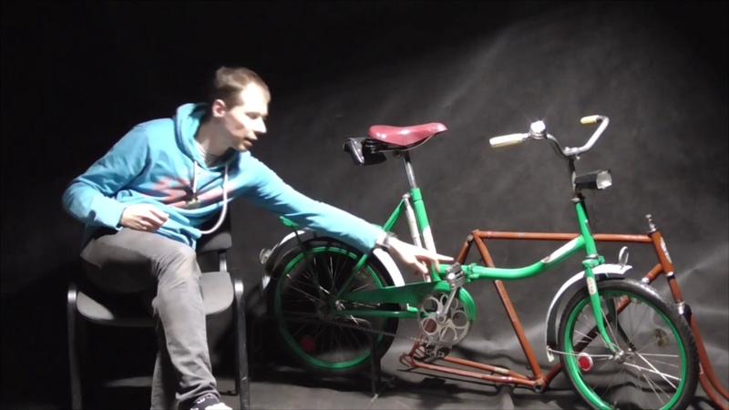 Классический складной велосипед ЖВЗ Десна 2