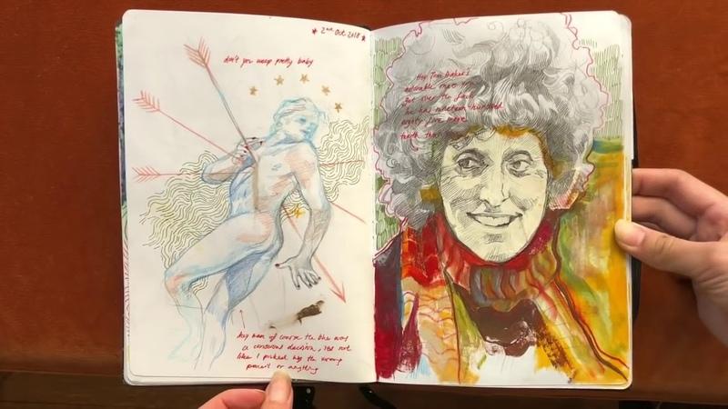 Sketchbook tour volume 1 (OLD VIDEO REUPLOAD)
