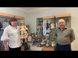 Открытие выставки Куклы в гости к нам пришли