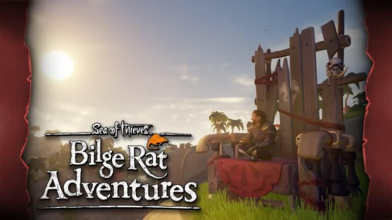 Official Sea of Thieves Bilge Rat Adventures Skeleton Thrones